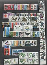 GB 1962-1967 SG631p-722p complete set phosphor stamps unmounted mint MNH -15%