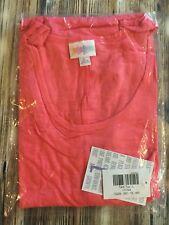 Nwt Lularoe Large Tank Top Solid Bright Pink