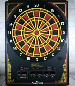 "Vintage English Mark Darts 27"" Dart Board by Arachnid Model AD2000 Number 19717"