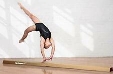 9ft Extra Firm Vinyl Folding Balance Beam Gymnastics Equipment Gold by Springee