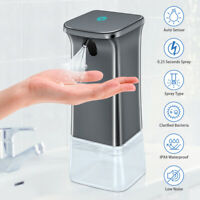 350ml Automatic Sensor Liquid Soap Dispenser Touchless Wash Sanitizer Machine