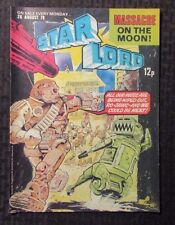 1978 Aug 26 STAR LORD IPC UK Weekly Comic - Massacre On The Moon VF
