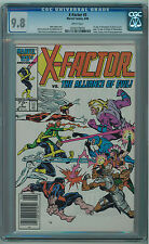 X-FACTOR #5 CGC 9.8 1ST APOCALYPSE WHITE PAGES COPPER AGE