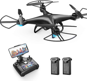 FPV RC Drone 1080P HD Camera Live Video 120°Wide-Angle WiFi Quadcopter Voice 3D