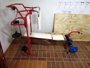 Kettler Sport Hantelbank mit Gewichten, gebraucht in top Zustand, kaum genutzt