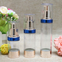 Empty Airless Bottle Cosmetic Plastic Pump Container Travel Useful 15 30 50ml