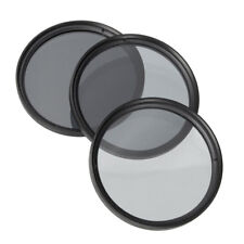 52mm ND2 ND4 ND8 ND Neutral Density Filter Camera Lens Set For Canon Nikon