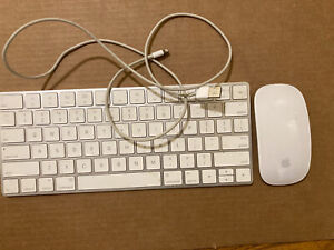 Wireless keyboard and mouse for Mac with Lightning Cable