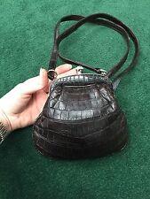 Rare Roberta di Camerino Genuine Crocodile Bag