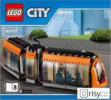 Lego® City Straßenbahn aus Set 60097 Stadtzentrum NEU