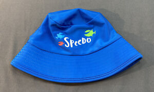 Speedo Unisex Blue Green Bucket Hat UV 50+ Size S/M