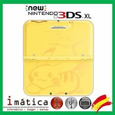 CARCASA COMPLETA PARA NEW NINTENDO 3DS XL EDICION PIKACHU POKEMON FULL HOUSING