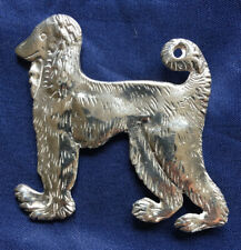 New listing Signed Sterling Silver Brooch Pin Figural Afghan Hound