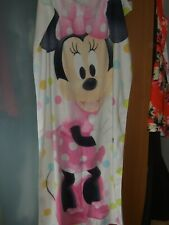 WHITE MINNIE MOUSE BATH TOWEL