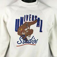 Universal Studios King Kong Sweatshirt Vintage 80s Fay Wray Made In USA Small