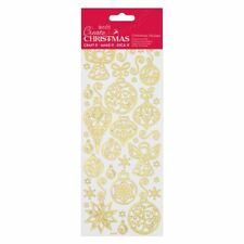 Do-Crafts Gold Outline Stickers - Angels for cards and crafts
