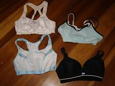 Lot 4 Womens Shock Absorber Speedo Avia Sports Bras 34D 34DD Bra Active Athletic