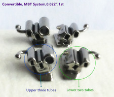 40Pcs Dental Tube Convertible MBT Buccal Tubes Rectangular Triple Double Molars