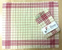 5pcs Terry Tea Towel Cloth 100% Cotton Glass Dish Hand Kitchen Bar Cafe Catering