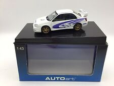 Autoart 1/43 Subaru Impreza (2003) WRX STi - White - Mint / Boxed