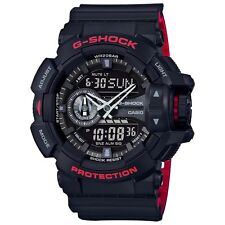 Casio G-Shock Mens Wrist Watch GA400HR-1A GA-400HR-1A Analog-Digi Rotary Blk/Red