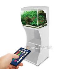 FLUVAL FLEX 57 L Bianco LED Aquarium & ARMADIO/supporto Nano Acquario Con Filtro