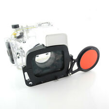 Underwater M67 Wet-Lens adapter mount for/G1 X Mark II Camera Canon WP-DC53 case