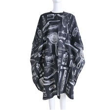 Soft Hair Cutting Cape Salon Hairdressing Hairdresser Gown Barber Cloth Black