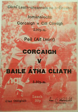1983 GAA All-Ireland Football S-Final Replay CORK v DUBLIN Programme