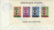 11315) HAITI FDC 7.4.1960 Refugee S/S
