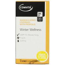 Comvita Propolis Lozenges Lemon & Honey (12 Lozenges)