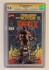 Marvel Comics Presents #72 CGC SS 9.8 • SIGNED STAN LEE • Weapon X Wolverine