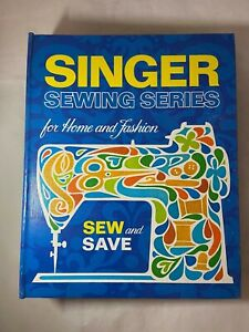 Vintage Singer Sewing Series for Home and Fashion Binder Book 1972 Blue