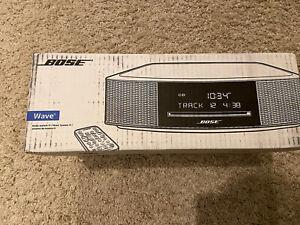 Bose Wave Music System IV AM/FM Radio/CD Player - Espresso Black W/ Bluetooth