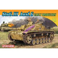 DRAGON 7283  1/72 STUG III Ausf.G EARLY PRODUCTION TANK MODEL KIT