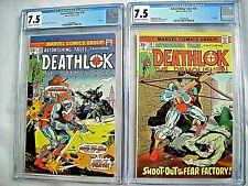 Marvel ASTONISHING TALES #28 CGC 7.5 and #30 7.5 Deathlok 1975