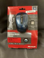 Microsoft Mobile Mouse 3500 Pc/Mac Model 1427, 1447 Blue And Black