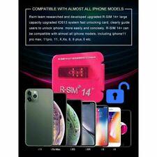 R-SIM15 Sim14+ Nano Unlock RSIM Card for iPhone 11 Pro Max XR 8 6 Plus iOS13 Lot