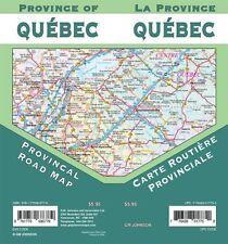 Quebec Provincial Map, Quebec, Canada, by GMJ Maps