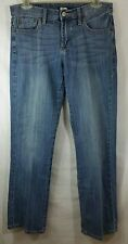 Lucky Brand women's Size 4 27 blue wash jeans factory distressed boot cut