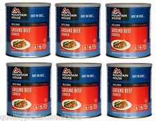 1 - Cans - Mixed Cases Mountain House Freeze Dried Emergency Food Supply