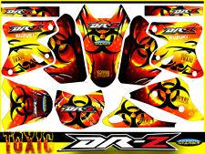 SUZUKI DRZ 400 TOXIC KOMPLETT DEKORSATZ Graphics, deco, Suzuki DRZ400 DRZ 400
