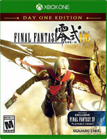 Final Fantasy Type-0 HD -- Day One Edition (Microsoft Xbox One, 2015) BRAND NEW