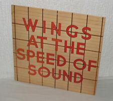 Paul McCartney & Wings At the Speed of Sound - Vinyl LP 1979 - PAS 10010 - G+/VG