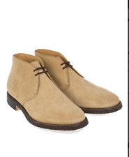 Church's Men's Jockey Sand Suede Ankle Lace-Up Boots £580