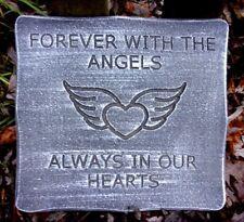 Memorial mold plaster concrete angel casting plaque mould