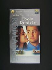 Fools Rush in VHS Matthew Perry, Salma Hayek