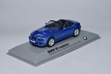 Minichamps BMW Z3 M Roadster blau / blue met. PROMO 1:43 OVP/MIB - dealer box