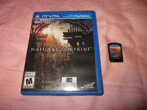 ~ Complete Set ~ Natural Doctrine (Sony PlayStation Vita, 2014)