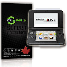 CitiGeeks® Nintendo 3DS XL New 2015 and 2012 Screen Protector HD Clear [2-Pack]